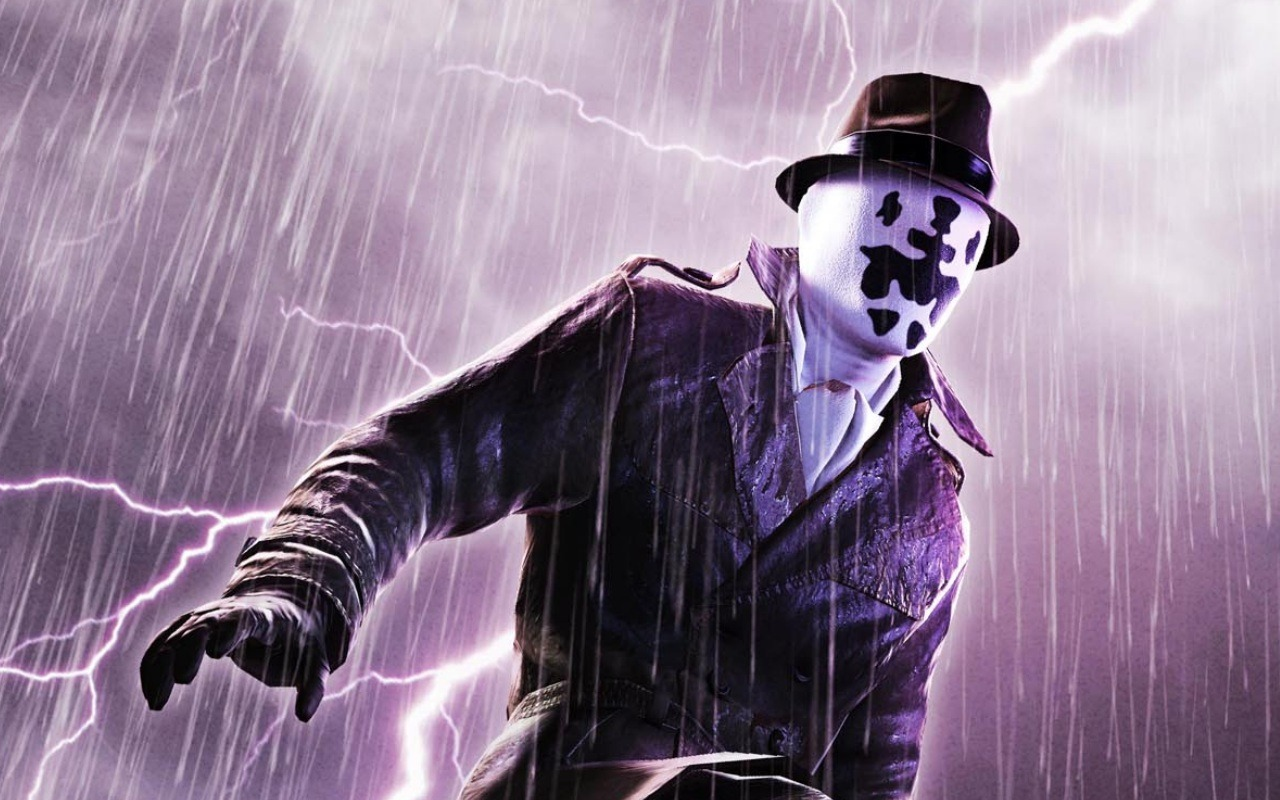 alan moore s watchmen and rorschach does the character set a bad  alan moore s watchmen and rorschach does the character set a bad example