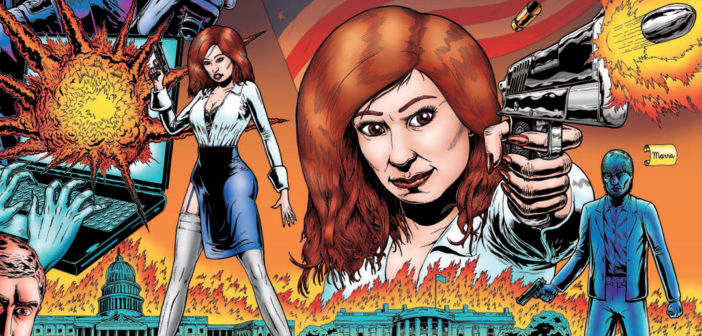 The Incredibly Fantastic Adventures of Maureen Dowd (A Work of Satire and Fiction)   Issue 01