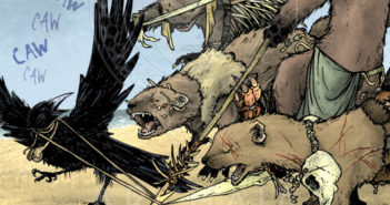 Mouse Guard: The Black Axe   Issue 01